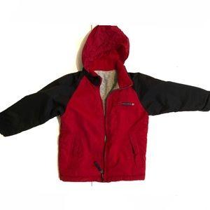 3T Nautica reversable winter coat